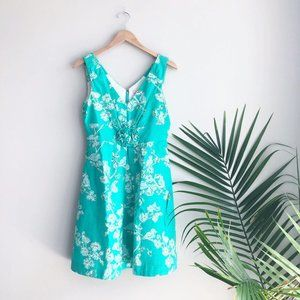 Lilly Pulitzer Parker Lagoon Birds and Bees Dress